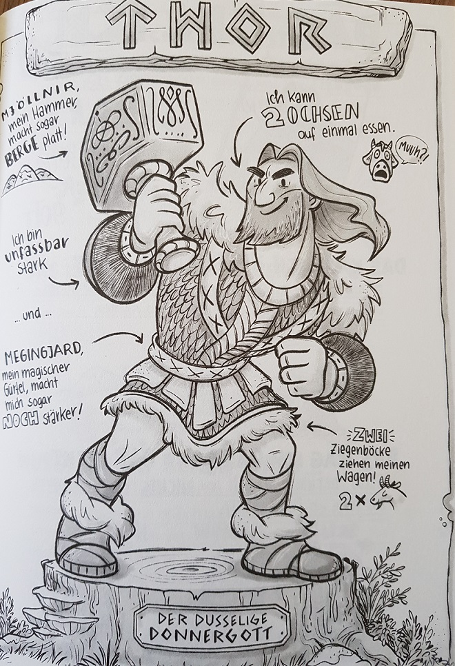 Thor im Portrait