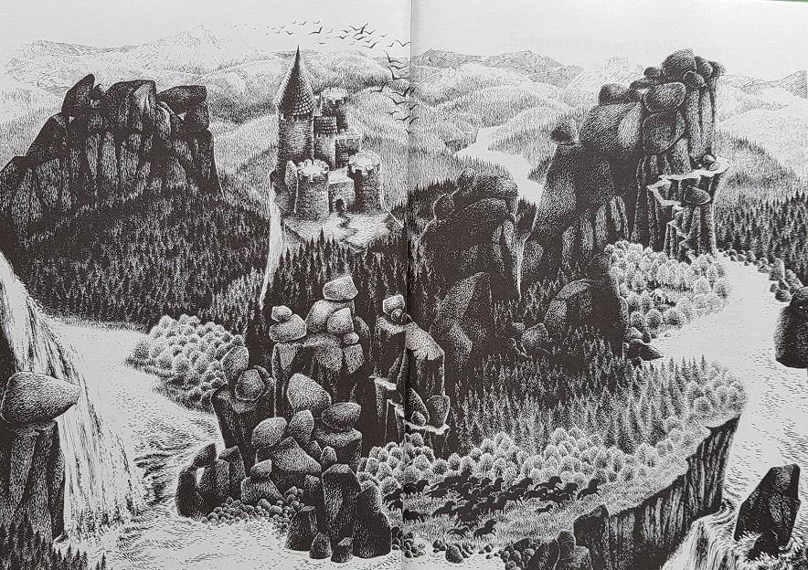 Schauplatz der Räubergeschichte: Übersicht über den Mattiswald