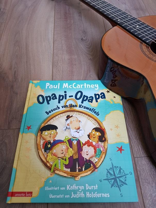 Cover Opapi Opapa mit Guitarre