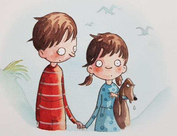 Joscha und Marie