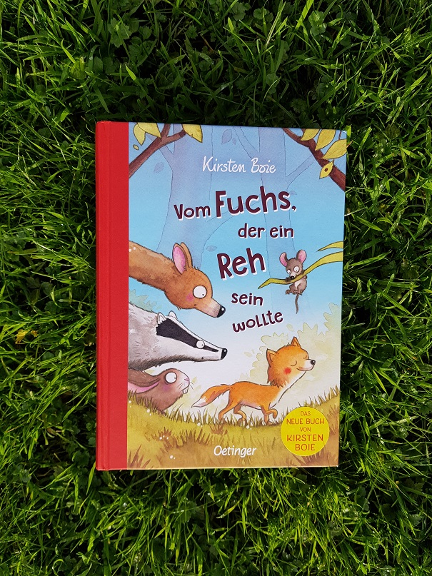 Cover Vom Fuchs, der ein Reh sein wollte