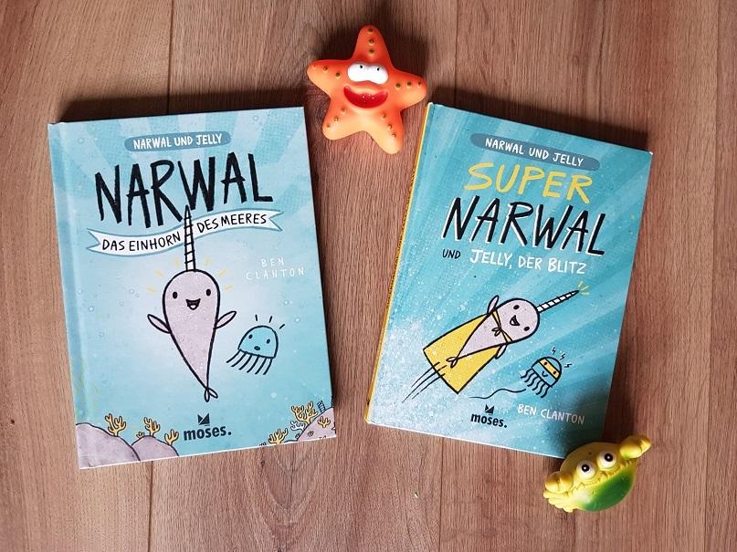 Narwal und Jelly. Cover Band 1 und 2
