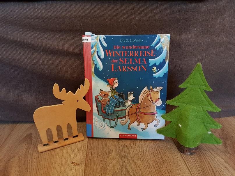 Die wundersame Winterreise der Selma Larsson - Cover