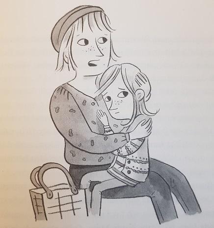 Selma ist von ihrem Papa enttäuscht und wird von Mama getröstet