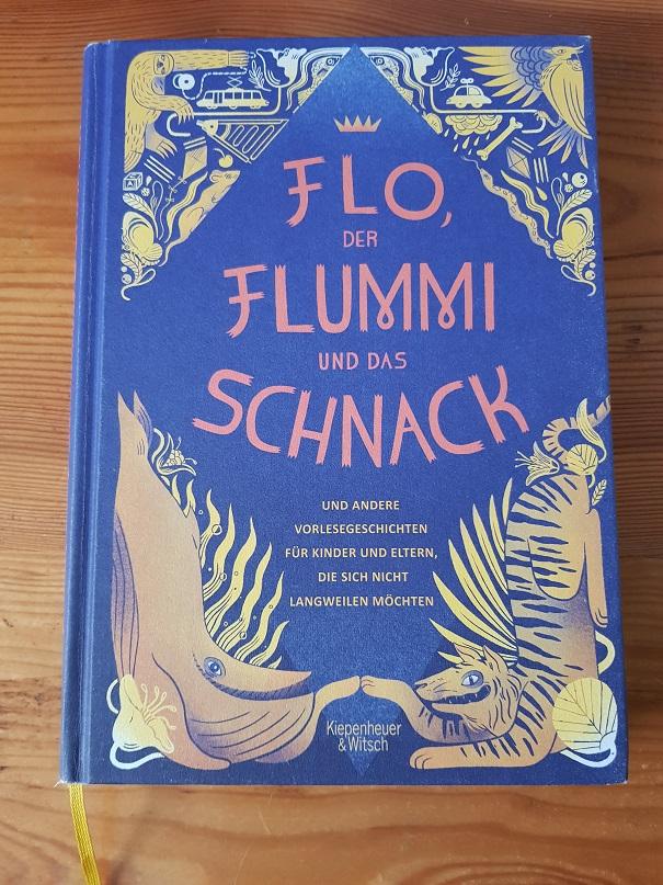 Vorlesebuch Cover von Flo, der Flummi und das Schnack